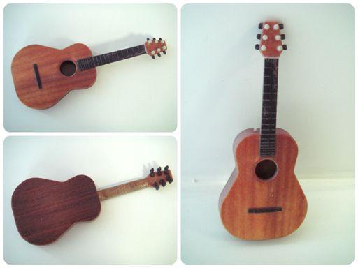 Гитара 3D  модель в системе ДЕКСМА