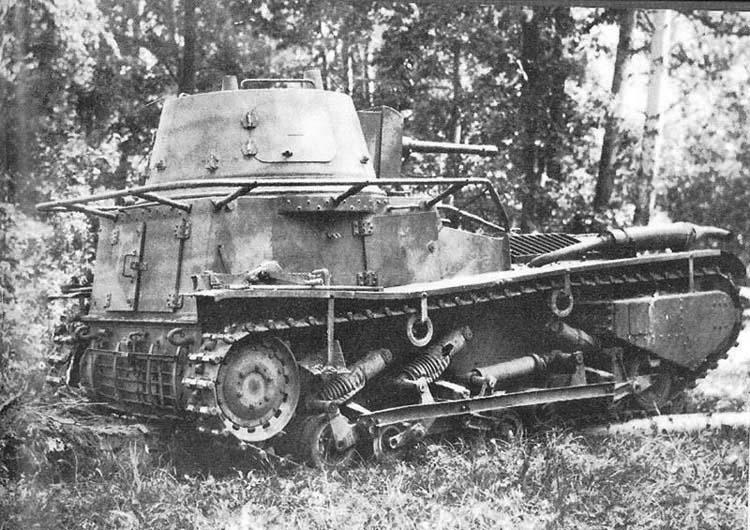 Обзор игры World of tanks: Leichttraktor (стартовый)