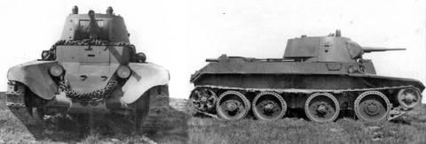 БТ-7 - лёгкий колесно-гусеничный танк 1Aaql