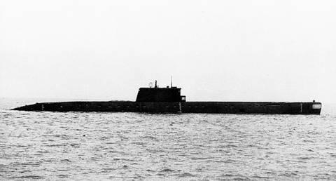 Проект 1840 - большая подводная лодка - база-лаборатория 43aL0