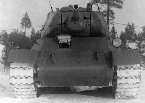 Т-43 - средний танк (1942 г.), опытный B38u4