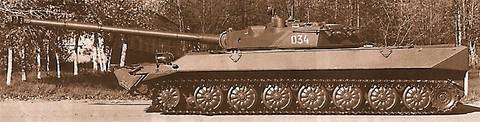 «Объект 934» - лёгкий плавающий танк (ОКР «Судья») F8dSD