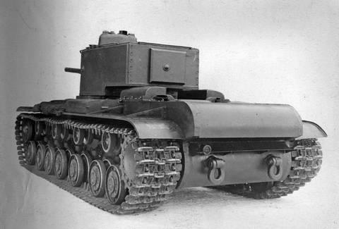 Т-220 («Объект 220», КВ-220, КВ-4) - опытный тяжёлый танк FvT1X