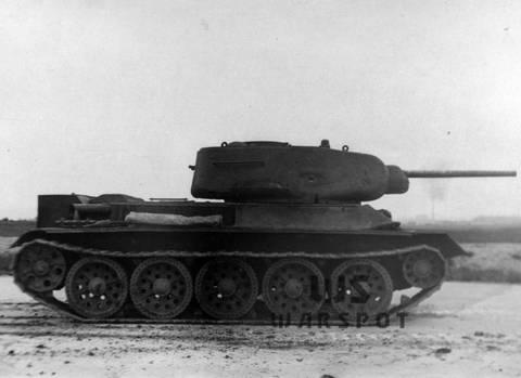 Т-43 - средний танк (1942 г.), опытный FvdTq