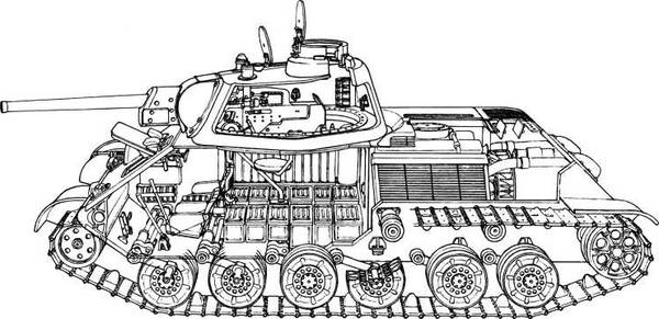 Т-34-М (А-43) - модернизированный средний танк Т-34 (1941 г.) JTEZ1