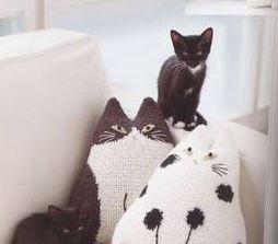 схему вязания с кошками скачать