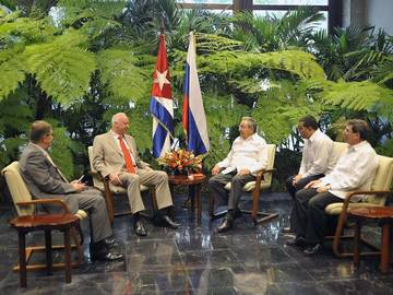 Recibió Raúl al Presidente del Comité de Investigaciones de Rusia