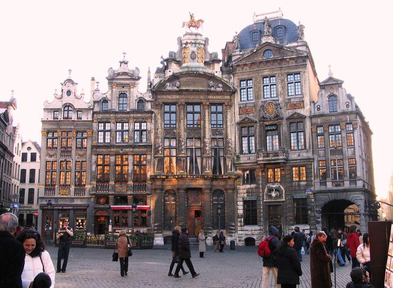 Брюссель является третьим самым богатым регионом в Европе